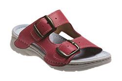 Scarpe ortopediche da donna  D/10/C30/SP rosso chiaro