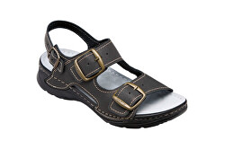 Zdravotná obuv dámska D / 5/60 / CP čierna