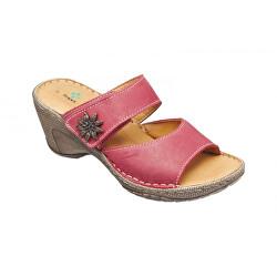 Zdravotná obuv dámska N / 309/2/30 červená
