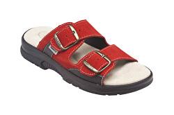 N pantofi de sănătate pentru femei / 517/33/38 / CP roșu