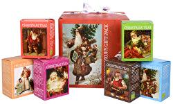 Darčeková kolekcia Vianočné kocka červená BIO 96 sáčkov