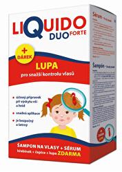 LiQuido DUO Forte šampón na vši 200ml + sérum