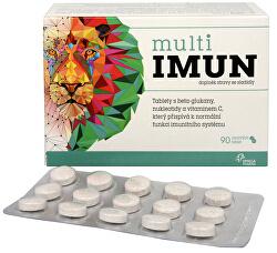 MultiIMUN cmúľavé tablety s grepovou príchuťou