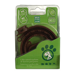 Prírodný obojok pre psov, odpudzujúci kliešte a blchy (Natural Insect Repellent Collar for Dogs)