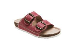 Zdravotná obuv detská D / 202 / C30 / BP červená