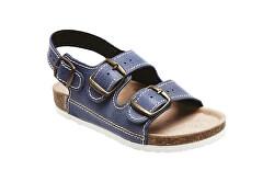 Zdravotná obuv detská D / 303/86 / BP modrá