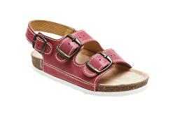 Zdravotná obuv detská D / 302 / C30 / BP červená