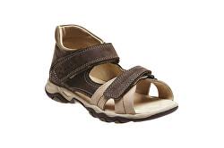 Zdravotná obuv detská N / 950/802/53/14 hnedá