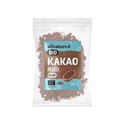 RAW BIO Kakaový prášek 200 g