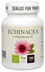 Echinacea s vitamínom C 100 tbl.
