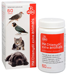PM Chlamydil extra animals 60 tbl.