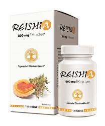 REISHIA 800 mg extractum 120 tob.