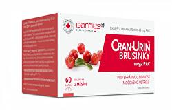 Barny´s Cran-Urin megaPAC brusinky 60 kapslí