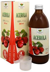 Acerola - 100% šťava z aceroly 500 ml