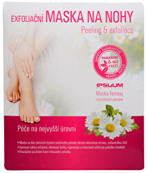 Exfoliační maska na nohy - ponožky