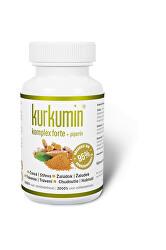 Kurkumín komplex FORTE 300 mg + piperín 60 kapsúl