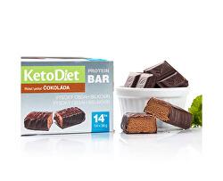 Proteinová tyčinka příchuť čokoláda 14 x 36 g