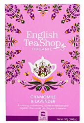 Čaj Heřmánek a levandule 20 sáčků