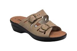 Scarpe sanitarie da donna PO/5146 grigio-marrone