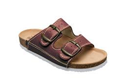 Zdravotná obuv detská D / 202 / C32 / BP bordo