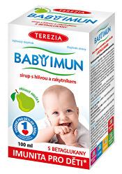 Baby Imun sirup s hlivou a rakytníkom - príchuť hruška 100 ml