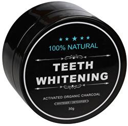 Bieliace zubné púder Charcoal 30 g