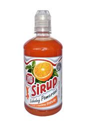 CukrStop sirup sa sladidlami z rastliny stévia - príchuť pomaranč