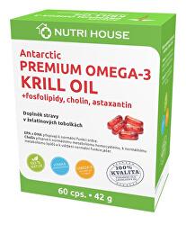 Premium Omega 3 Krill Oil 60 kapslí