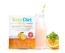 Proteínové smoothie s pomarančovou príchuťou 7 x 27 g