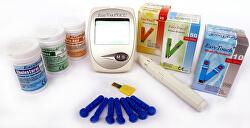 Cholesterolmetr EasyTouch 3v1 + 3 krabičky proužků