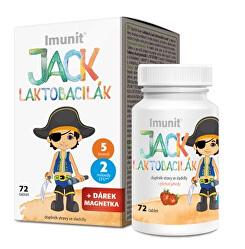 Laktobacily Jack Laktobacilák Imunit 72 tabliet