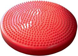 Podložka gumová šošovka s výstupkami červená 35 cm
