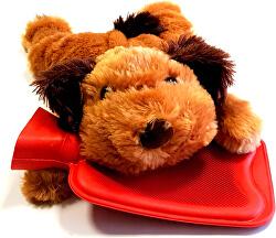 Termofor copii Câine de culoare brun deschis
