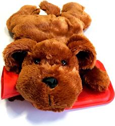 Termofor detský Pes tmavohnedý