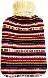 Termofor în pulover cu dungi