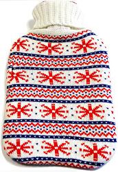 Termofor în pulover de iarnă