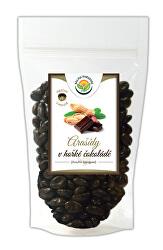 Arašidy v horkej čokoláde