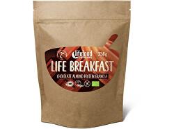 Bio Life breakfast granolového čokoládová s mandľami 230 g