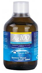 Koloidné striebro Ag 100 (20 ppm) 300 ml