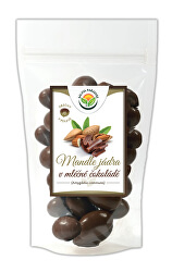 Mandle v mliečnej čokoláde