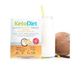 Proteinové smoothie příchuť kokos a vanilka 7 x 27 g