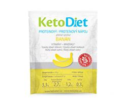 Proteínový nápoj príchuť banán 7 x 27 g