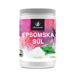 Epsomská sůl máta 1000 g