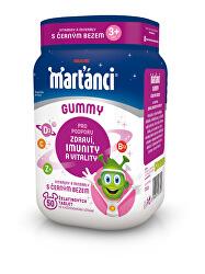 Marťankovia Gummy vitamíny s čiernym bazou príchuť jablko a čierne ríbezle 50 ks