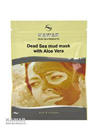 Pleťová maska s aloe vera a minerály z Mŕtveho mora 75 g sáčok