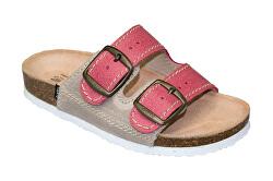 Zdravotná obuv detská D / 203 / C30 / S12 / BP červená (veľ. 31-35)