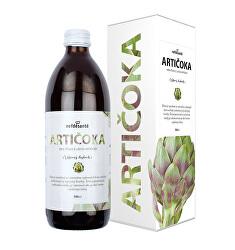 Artičoky - 100% šťava z listov artičoky 500 ml