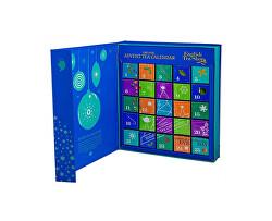 Adventní kalendář kniha modrá BIO 25 pyramidek
