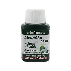 Medovka 50 mg + chmeľ + valeriána 30 tbl. + 7 tbl. ZD ARMA