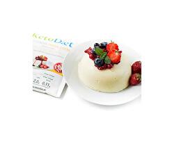 Proteínová panna cotta s príchuťou smotany a vanilky (7 porcií)